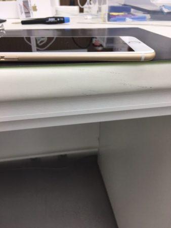 iPhone6バッテリー膨張 修理後