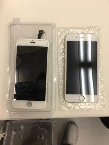 スマップル浜松店 iPhone画面交換の様子