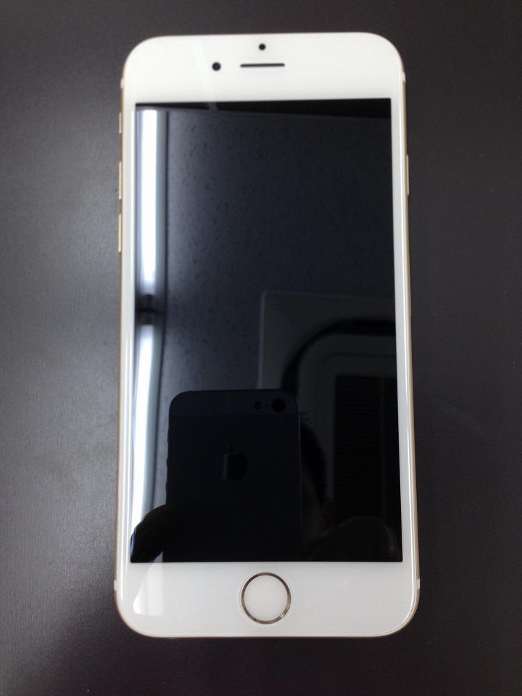 iPhone6のガラス+液晶交換修理 後 写真