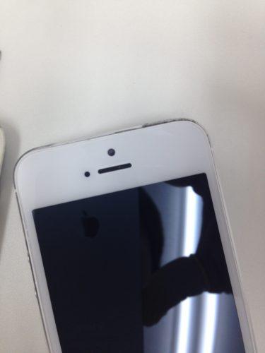 iPhone5s画面割れ修理後