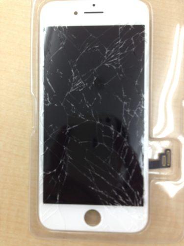 iPhone7画面バリバリ