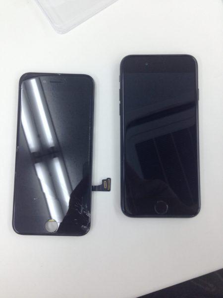 iPhone7画面ビフォーアフター