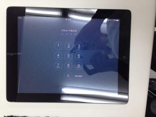 iPadガラス交換後