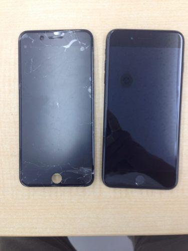 iPhone7Plusビフォーアフター