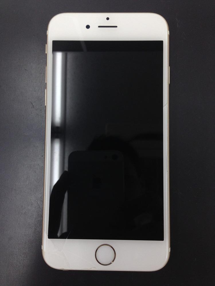 iPhone6ガラス交換前