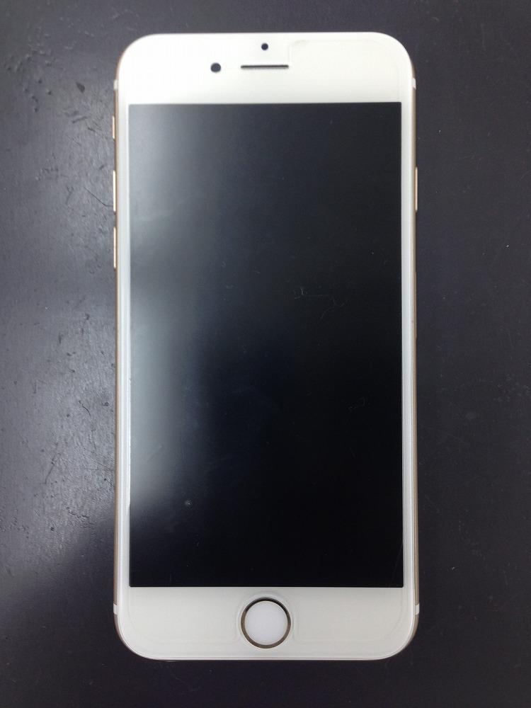 iPhone6sブラックアウト