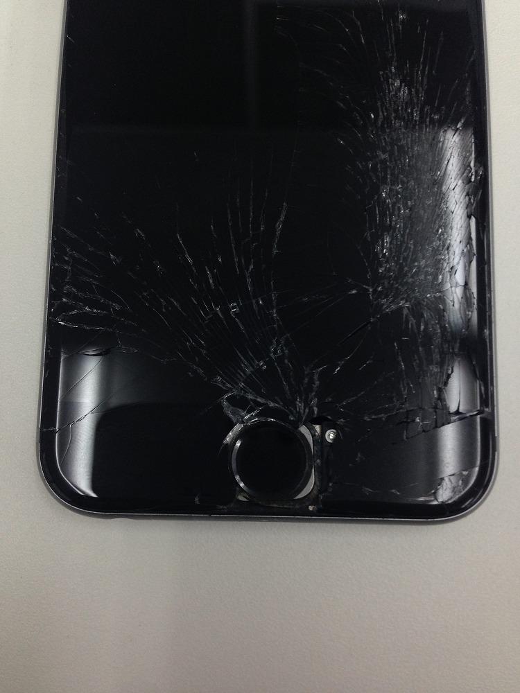 iPhone6sバキバキ