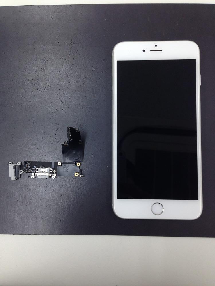 iPhone6Plusドックコネクター交換