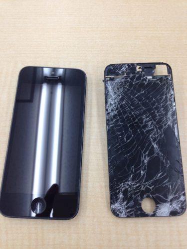 iPhone曲がり修正