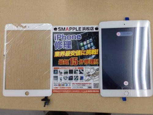 iPadガラス交換ビフォーアフター