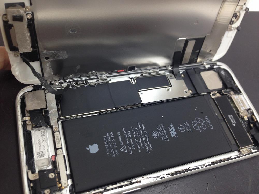 iPhone水没した