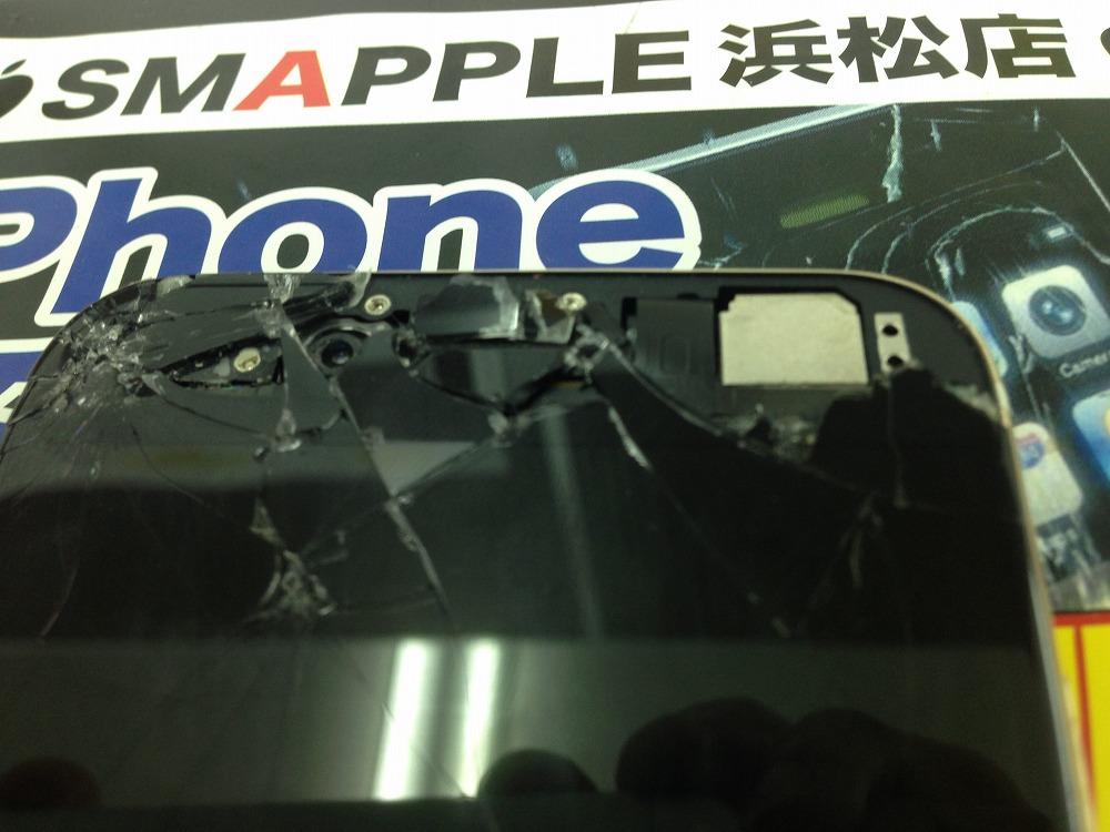 iPhoneインカメラ故障