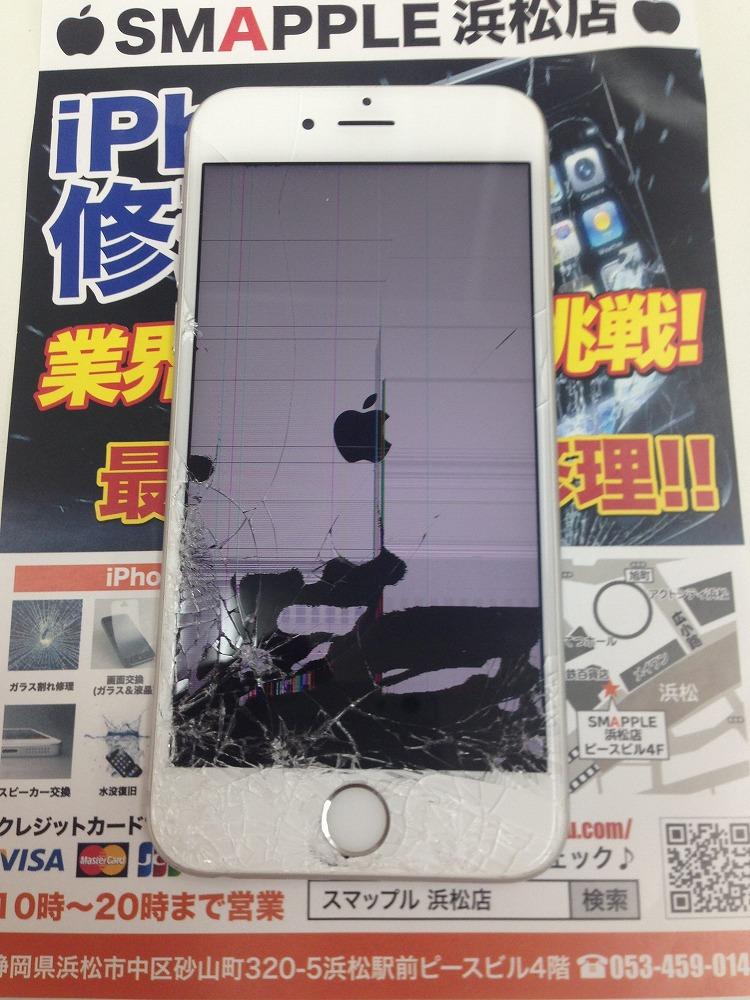 iPhone6s液晶破損