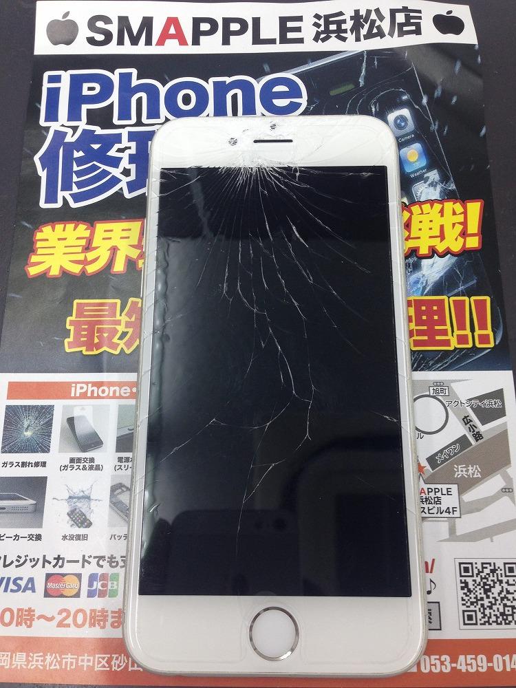 iPhone6画面割れ
