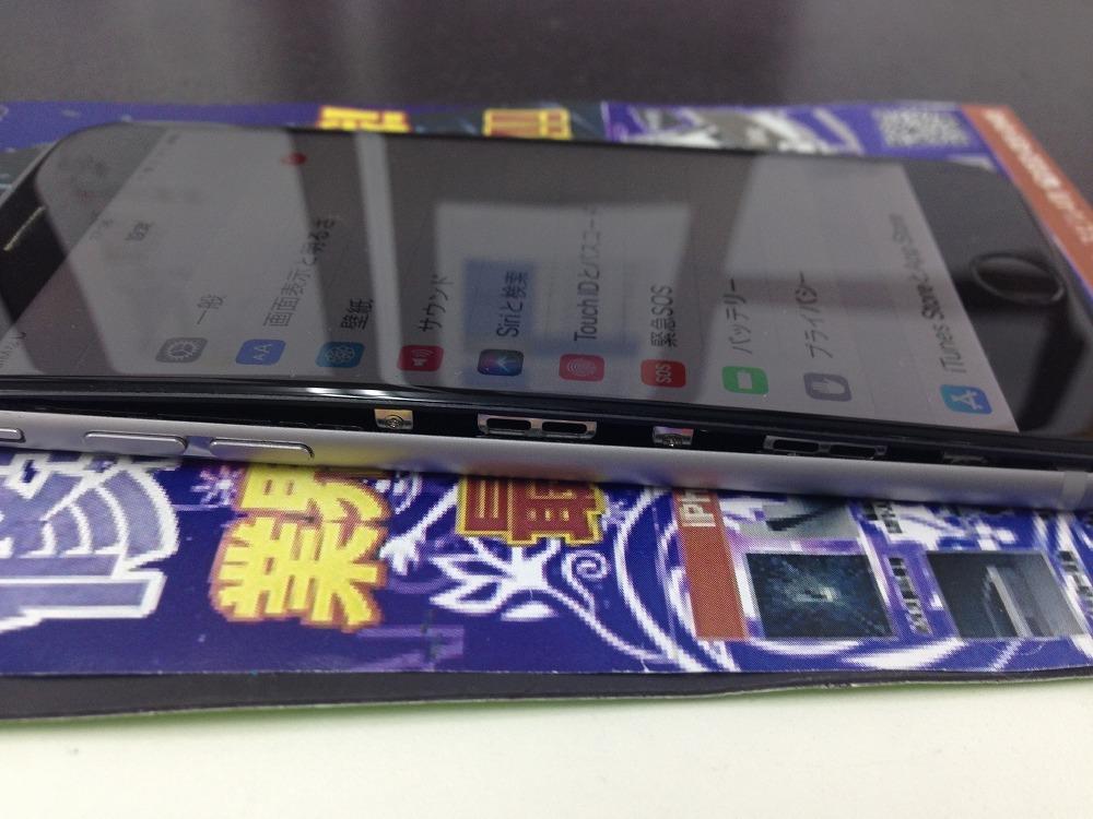 iPhone6バッテリー膨張