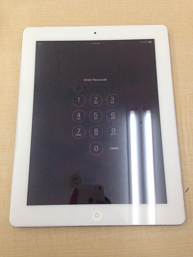 iPad2ガラス交換後