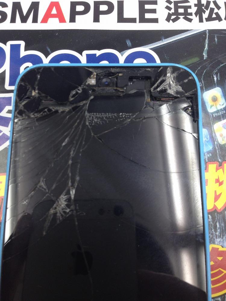 iPhone5c画面交換前
