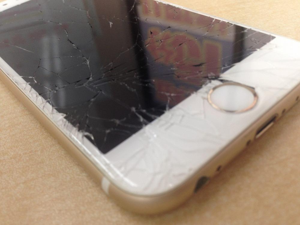iPhone6sガラス交換前