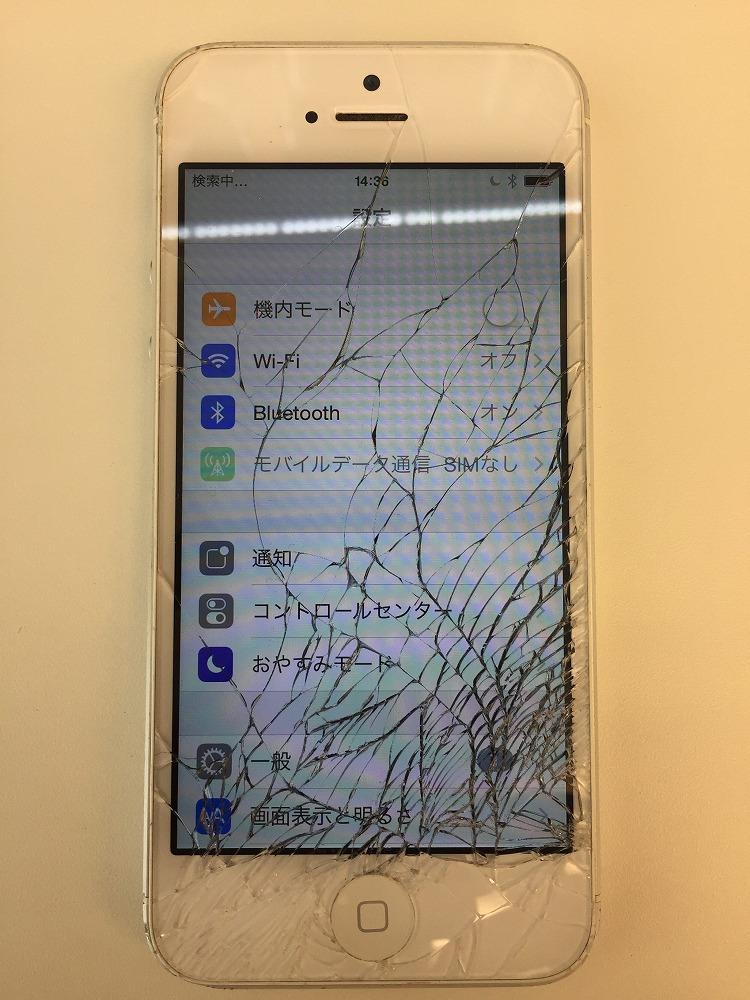 iPhone5画面交換前