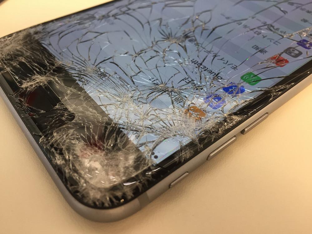 iPhone6Plus液晶交換前