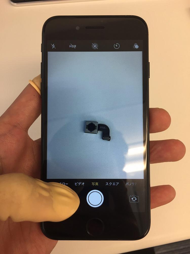 iPhone7カメラ交換後