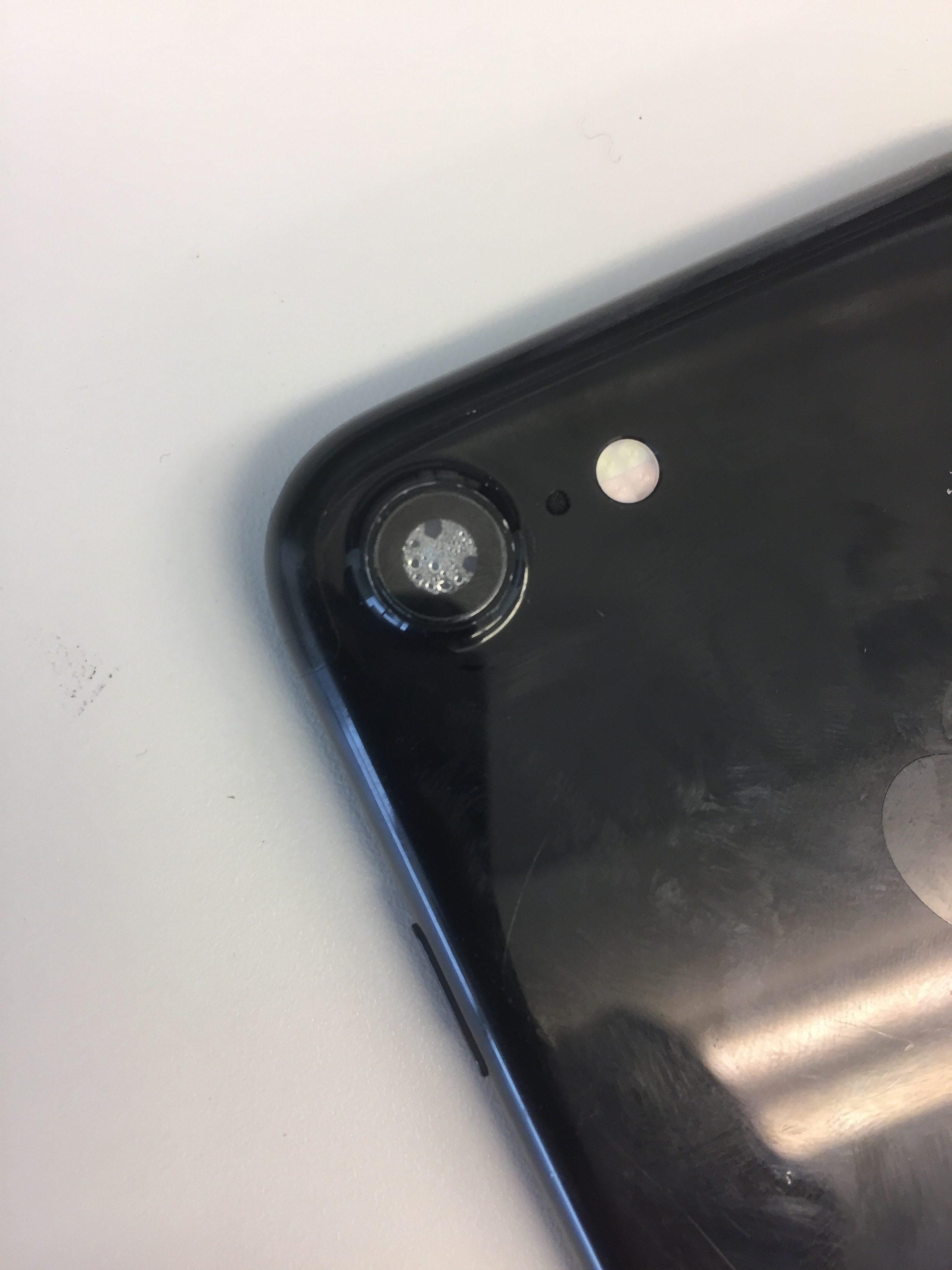 iPhone7 水没 リアカメラ 修理前