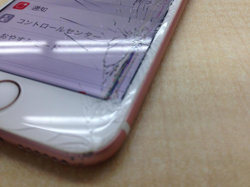 iPhone6s 画面割れ 修理前