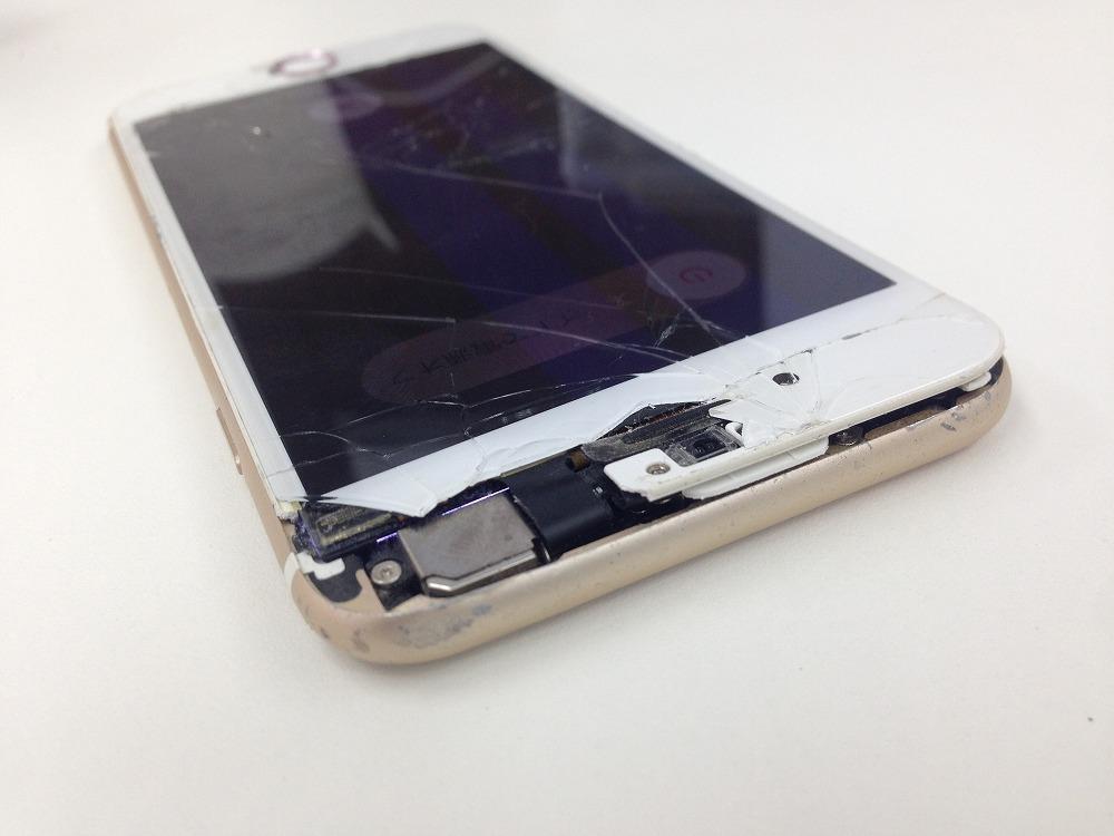 iPhone6ガラス液晶交換前