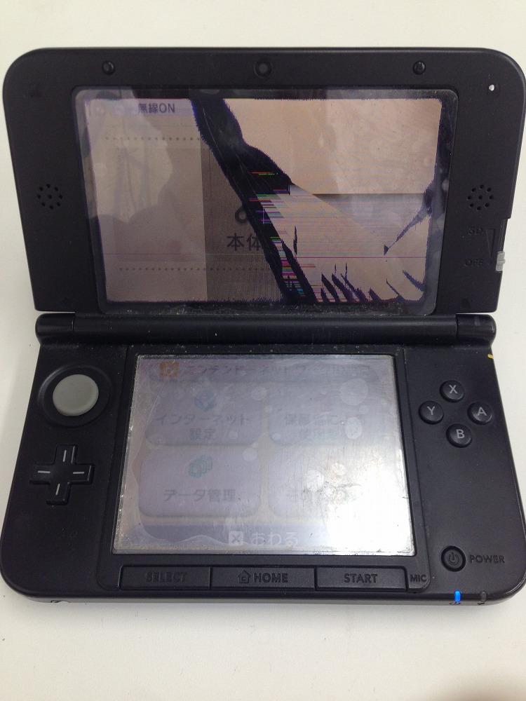 3DSLL上画面故障