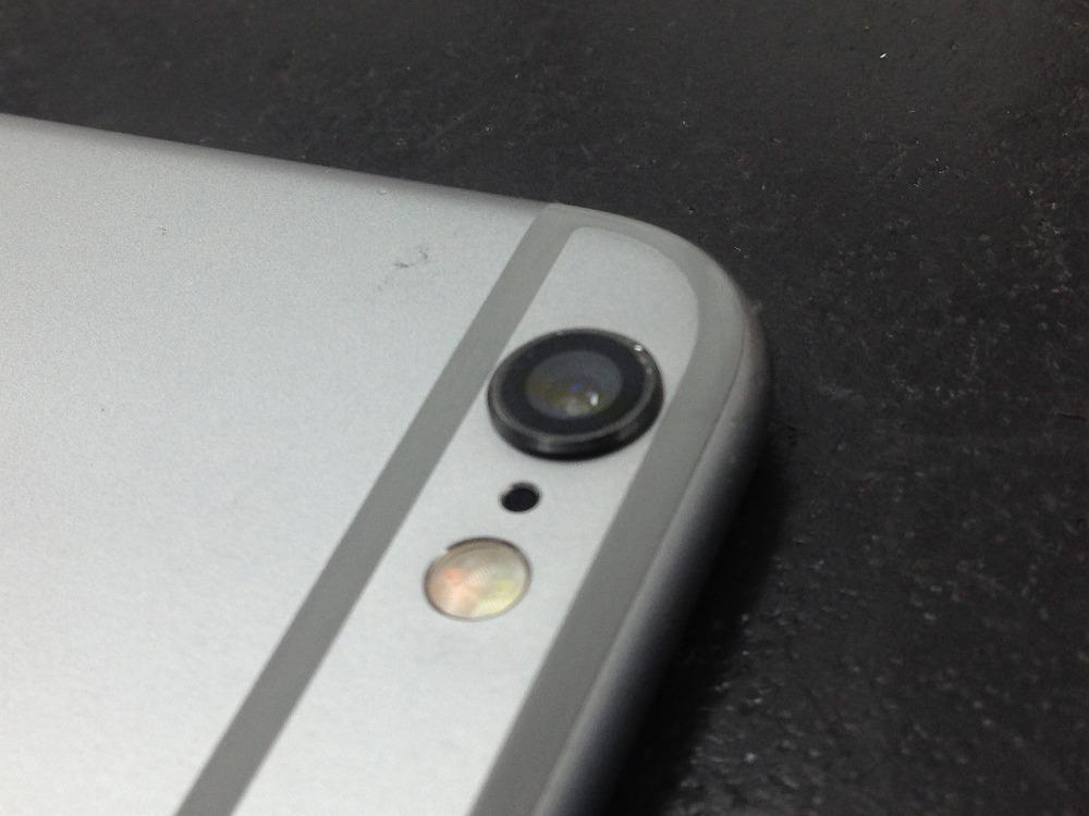 iPhone6カメラレンズ交換後