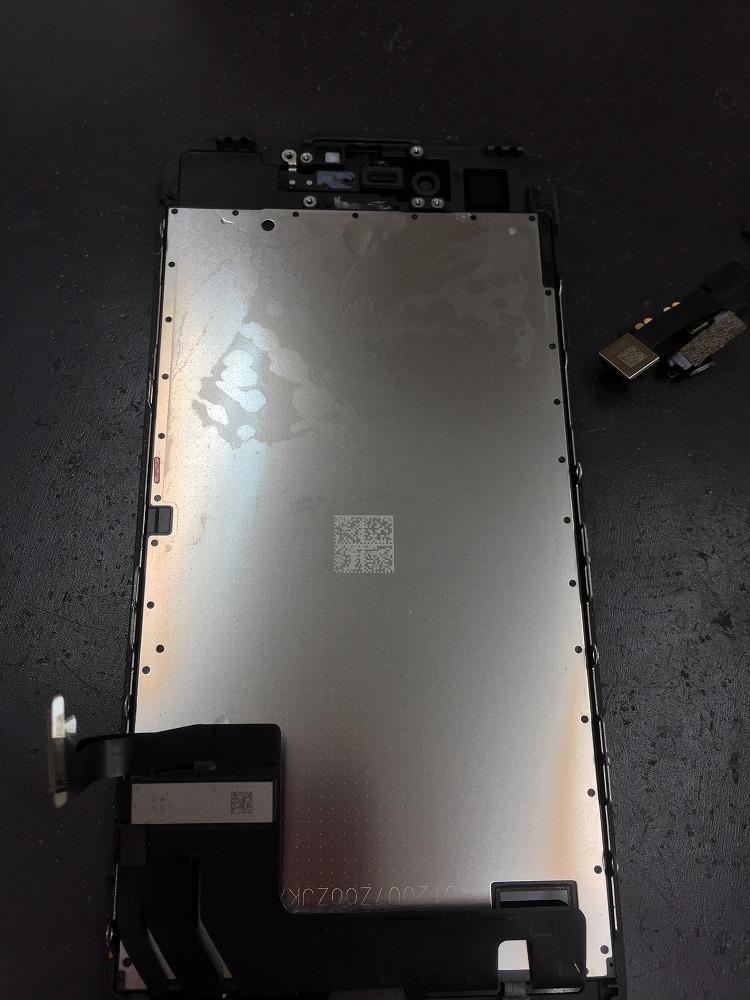 iPhone7水没復旧2