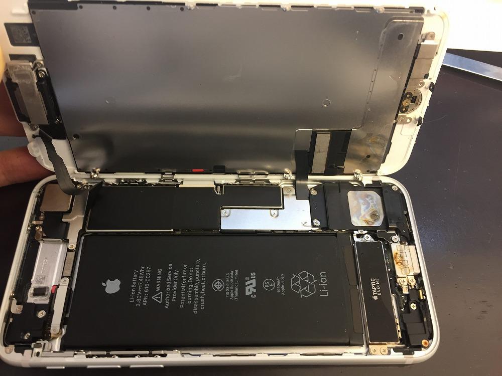 iPhone7水没反応