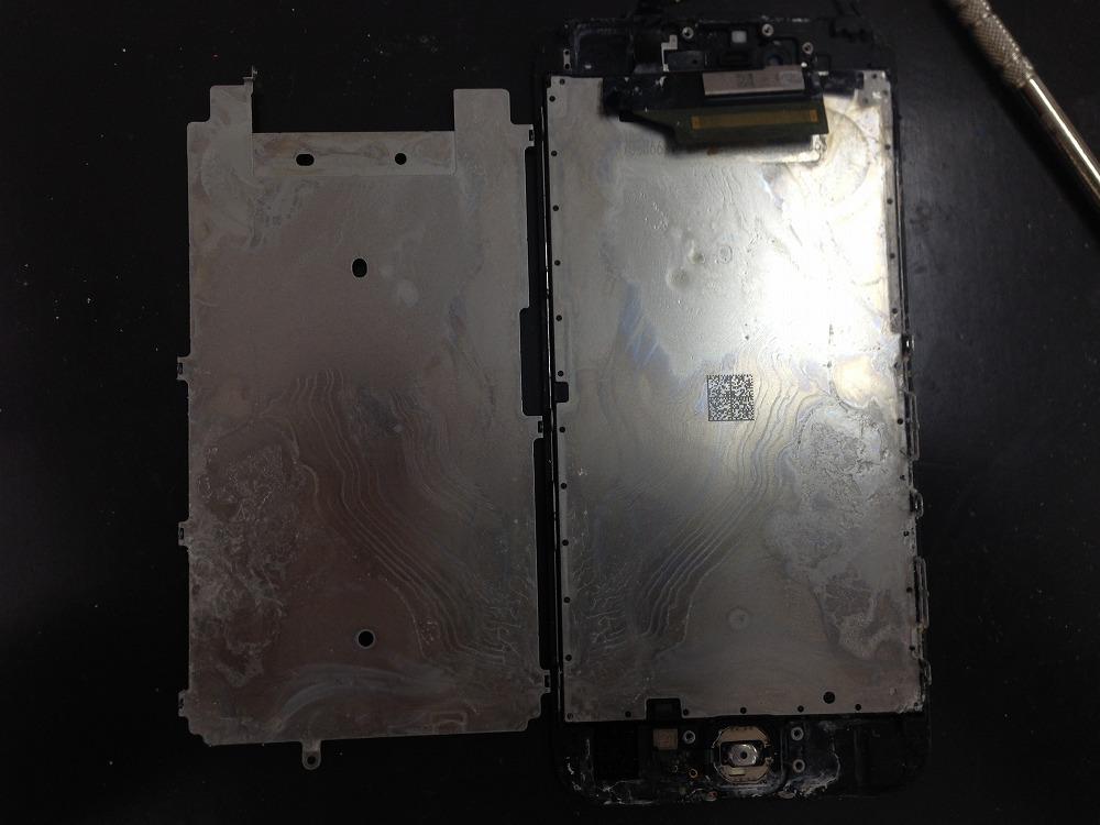 iPhone6水没反応