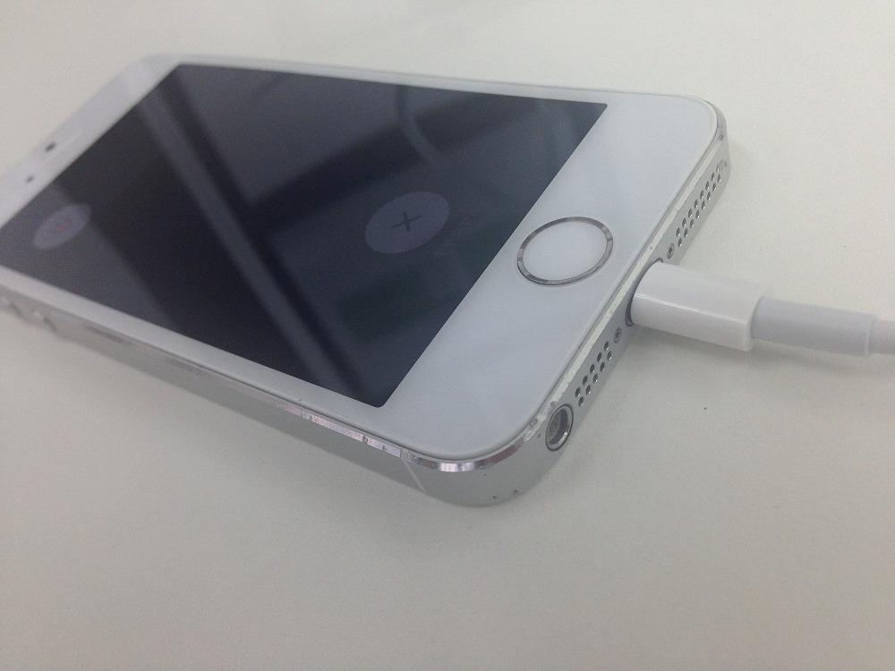 iPhone5s画面交換後2