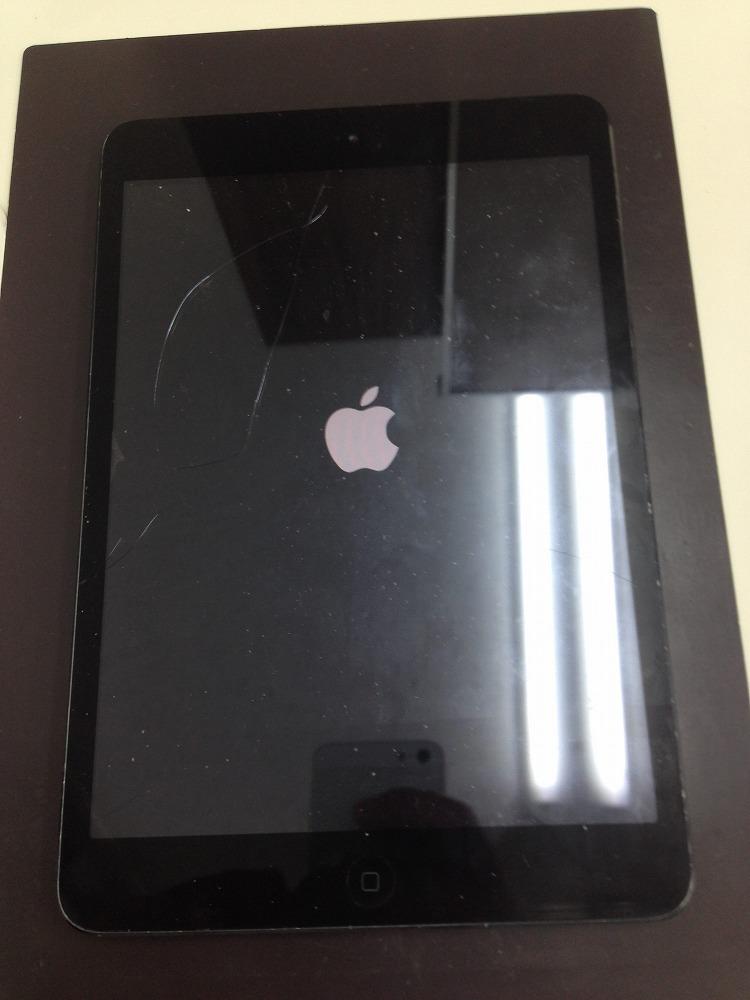 iPadminiガラス交換前