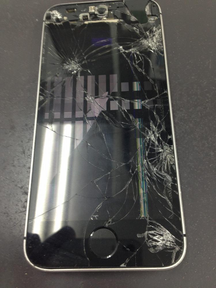 iPhone5s画面交換前