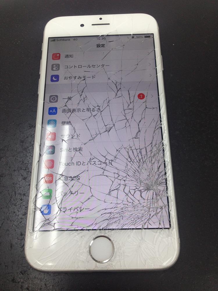 iPhone6画面交換前