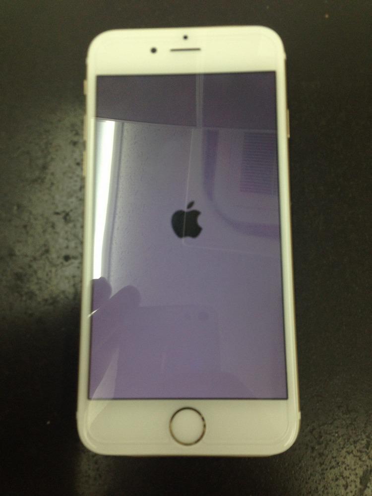 iPhone6画面バッキバキからの復活