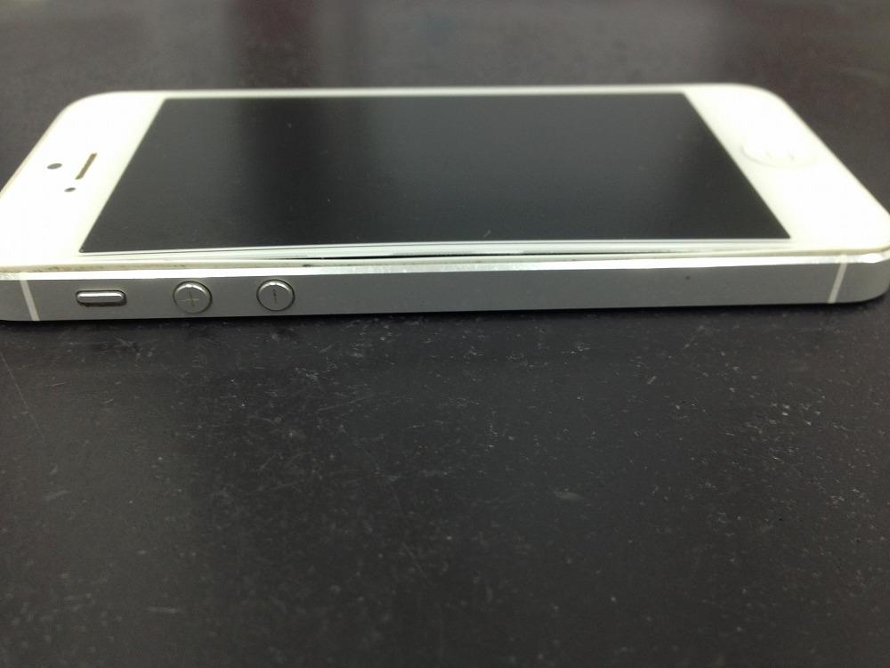 iPhoneに隙間