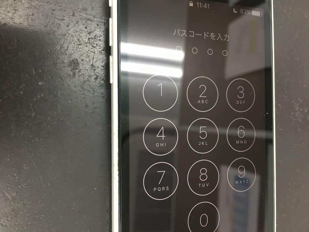 iPhone5c画面交換後2