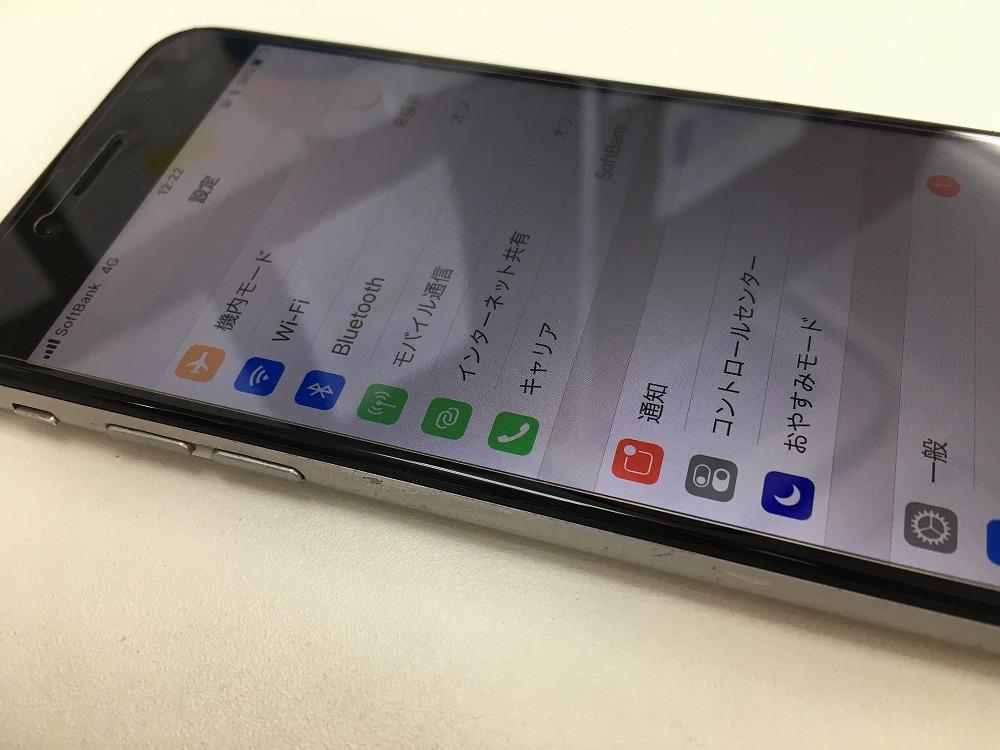 iPhone6画面バリバリからの復活