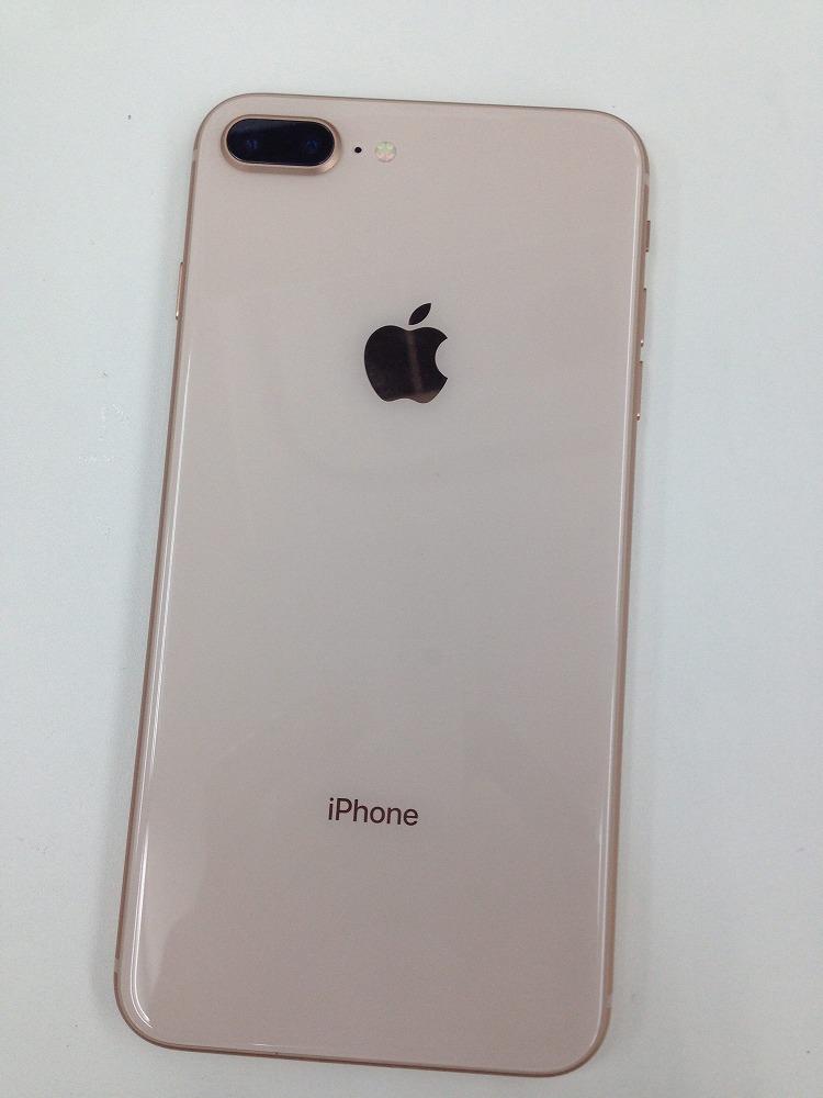 アイフォン8Plus背面