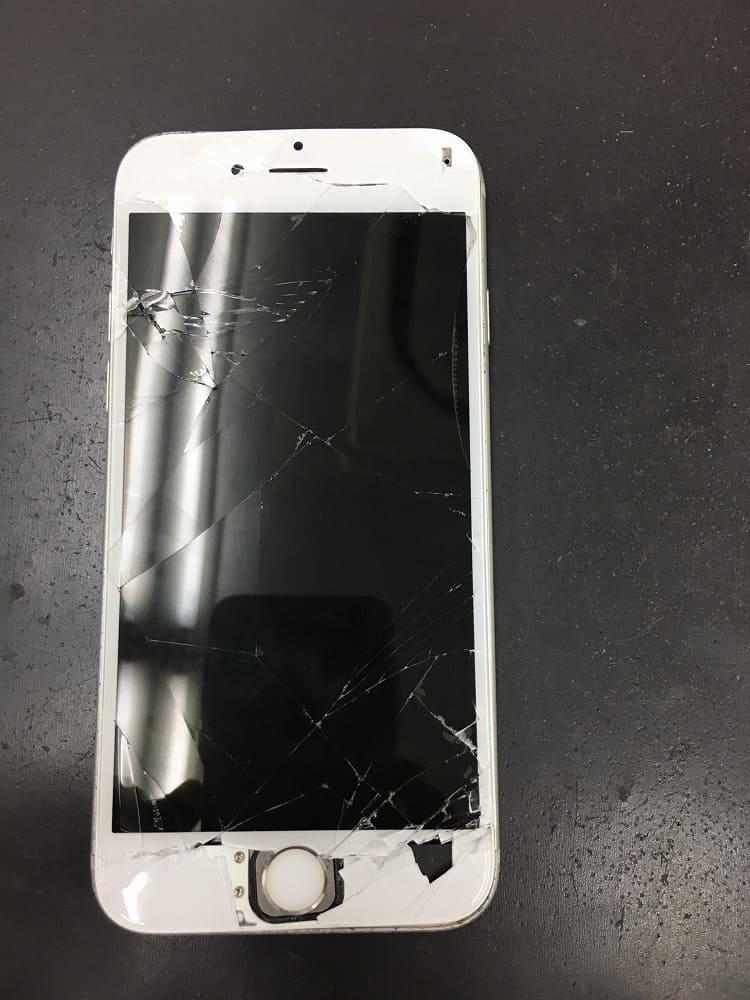 iPhoneブラックアウト