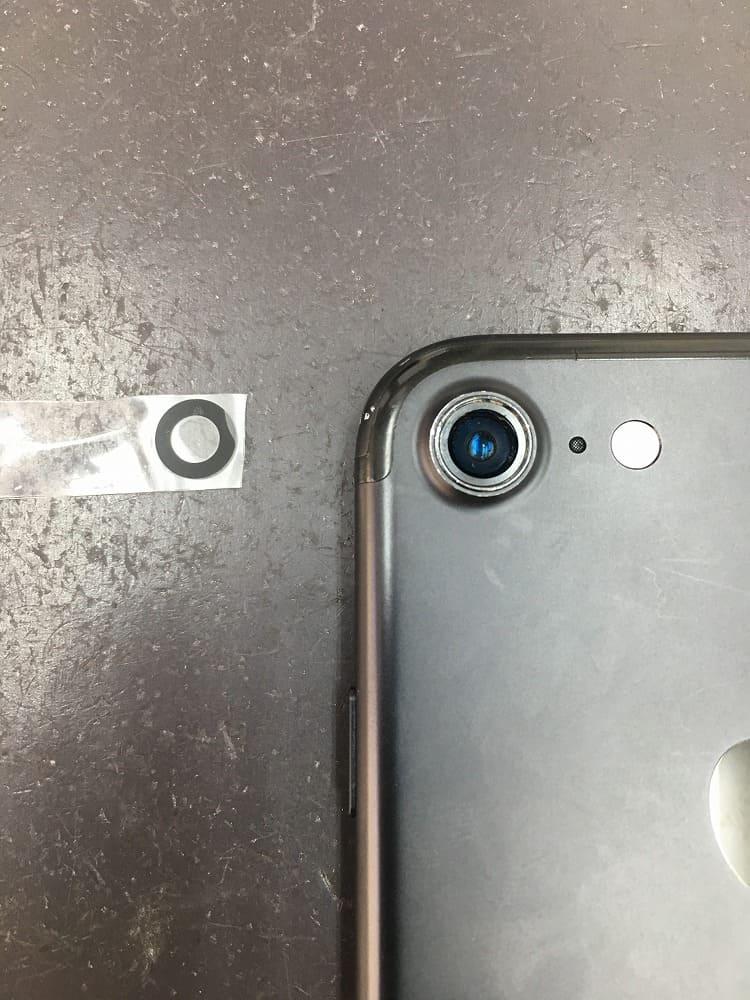 iPhone7カメラレンズ修理