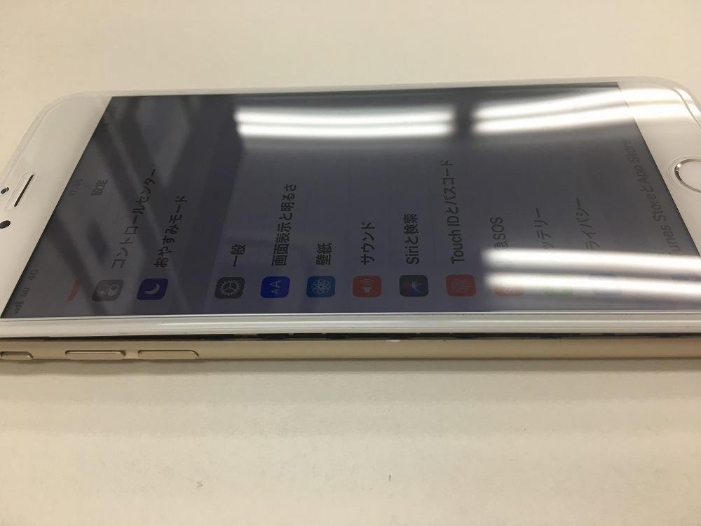 iPhone6Plus画面浮き