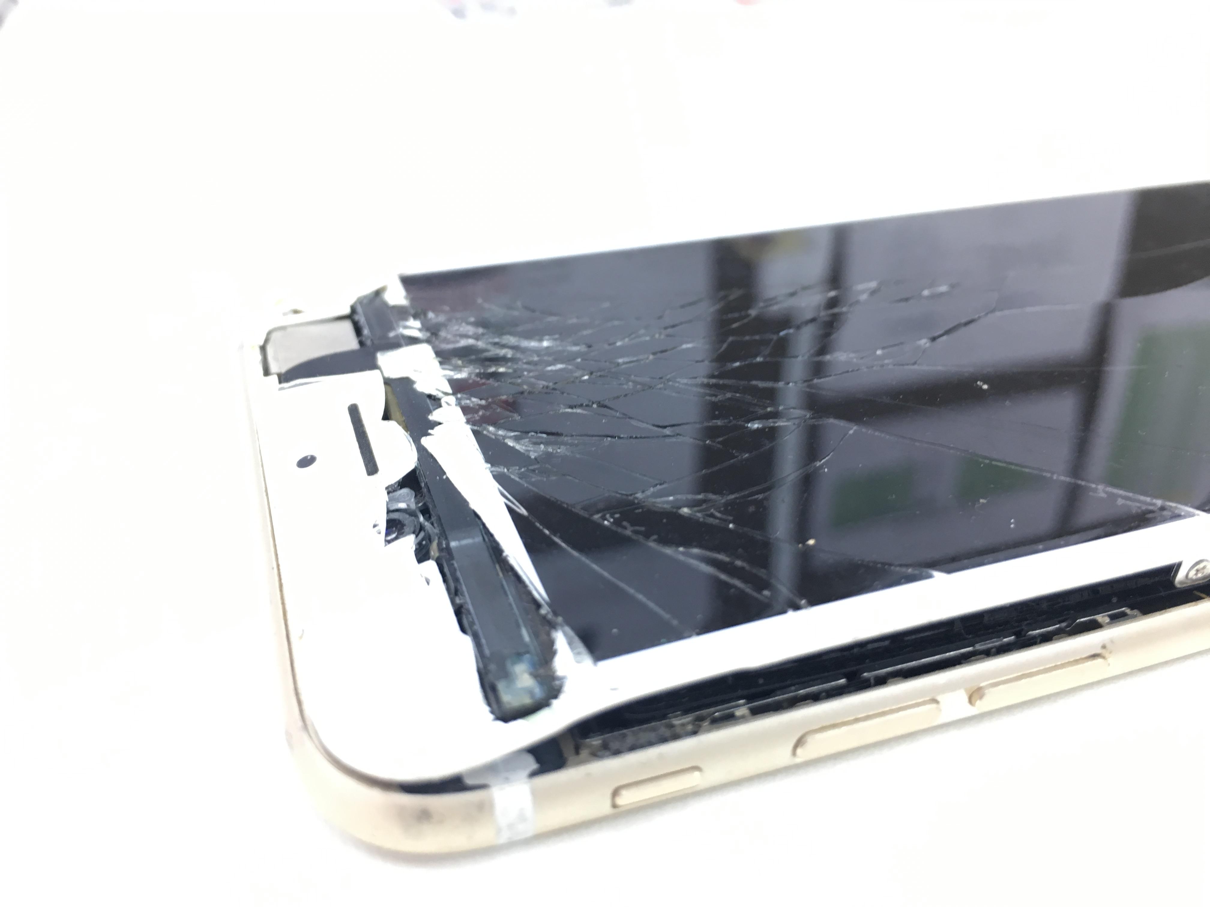 iPhone6画面ボロボロ