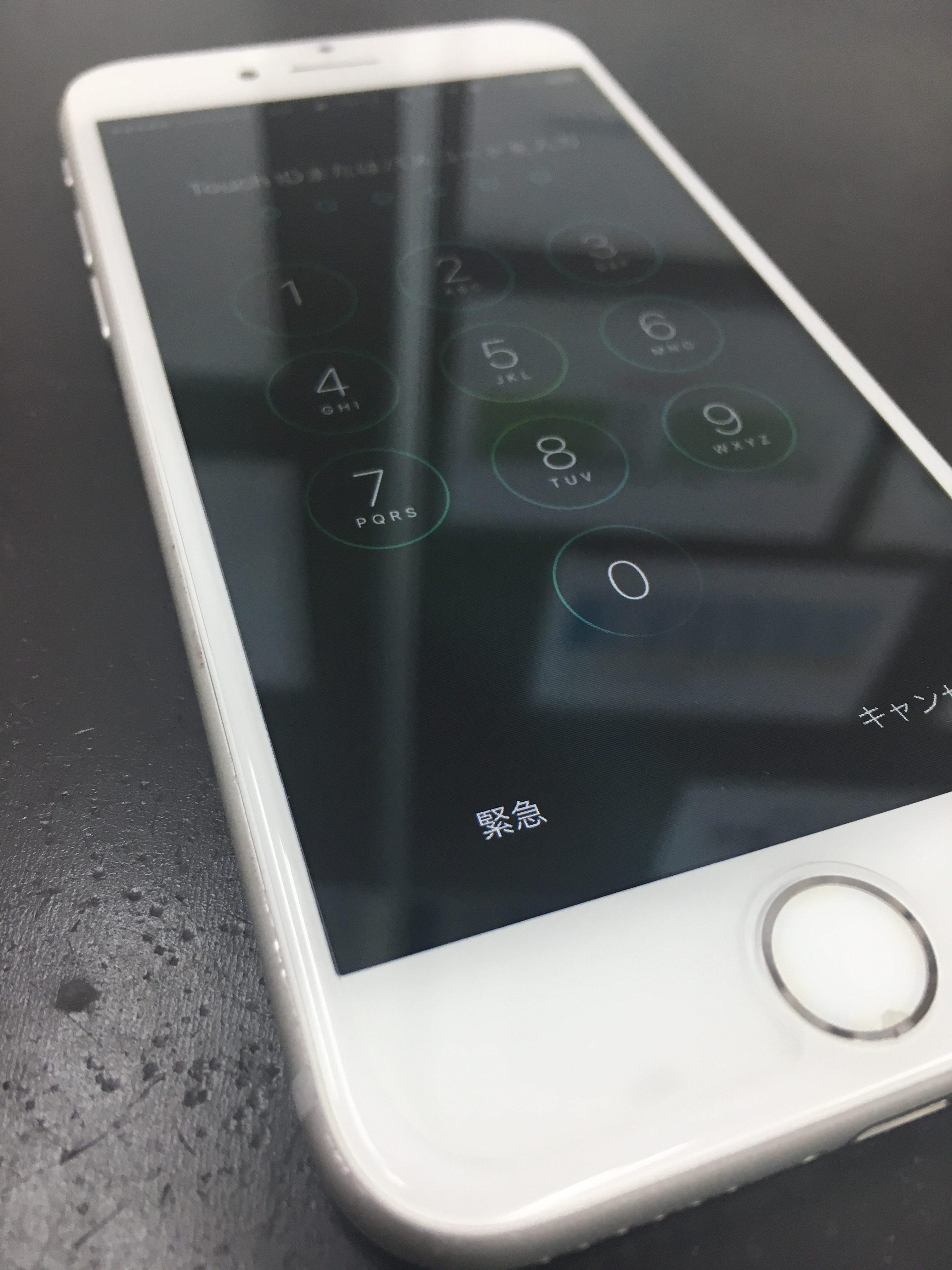 iPhone7フレーム歪み修正