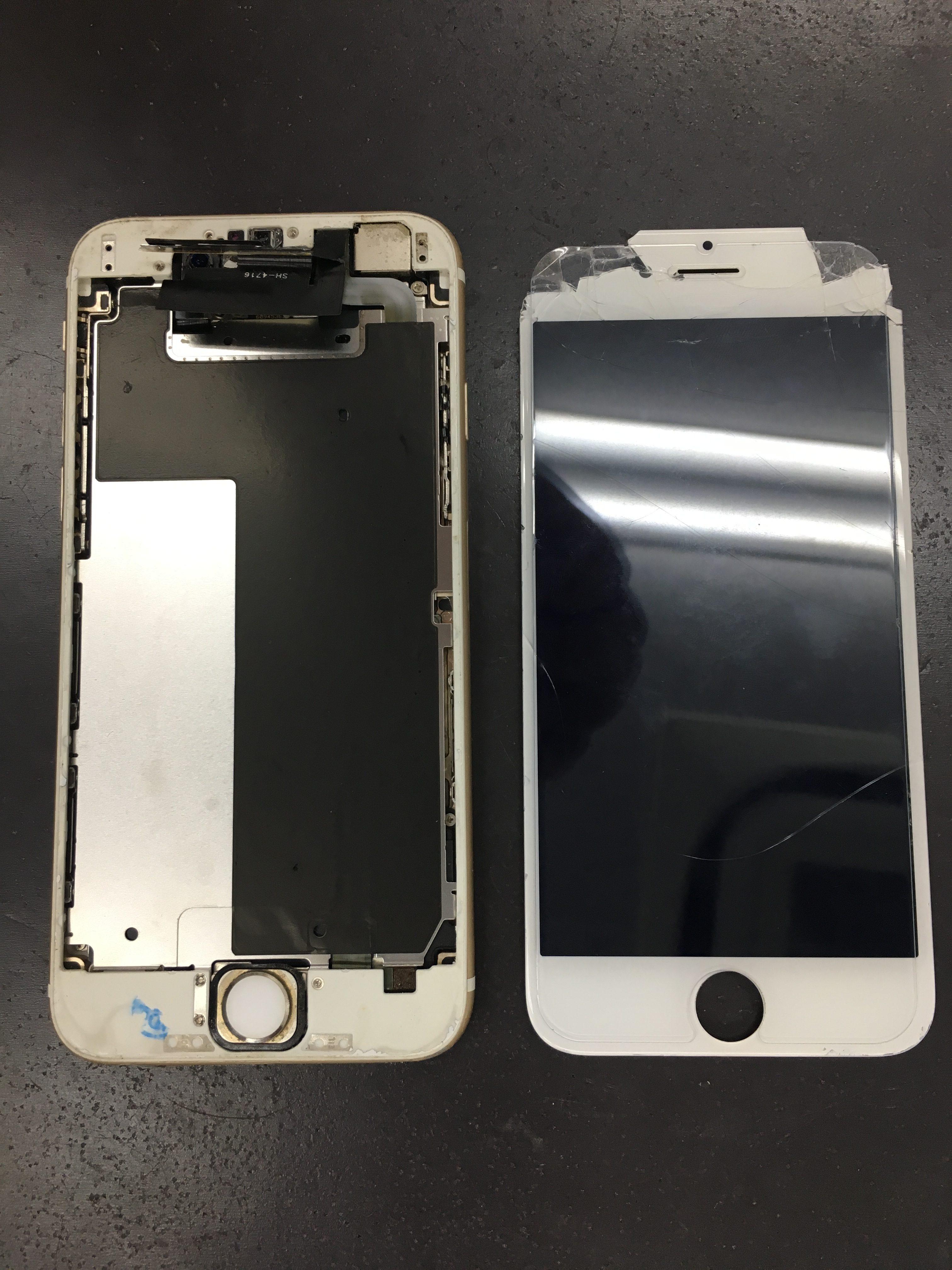 iPhone6パネルバラバラ