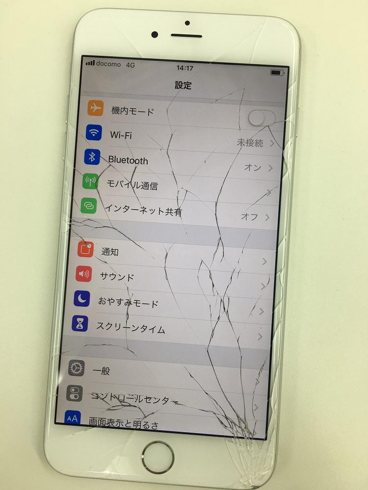 iPhone6Plus画面交換前