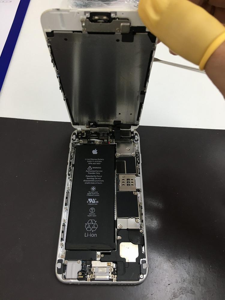 iPhone6水没内部